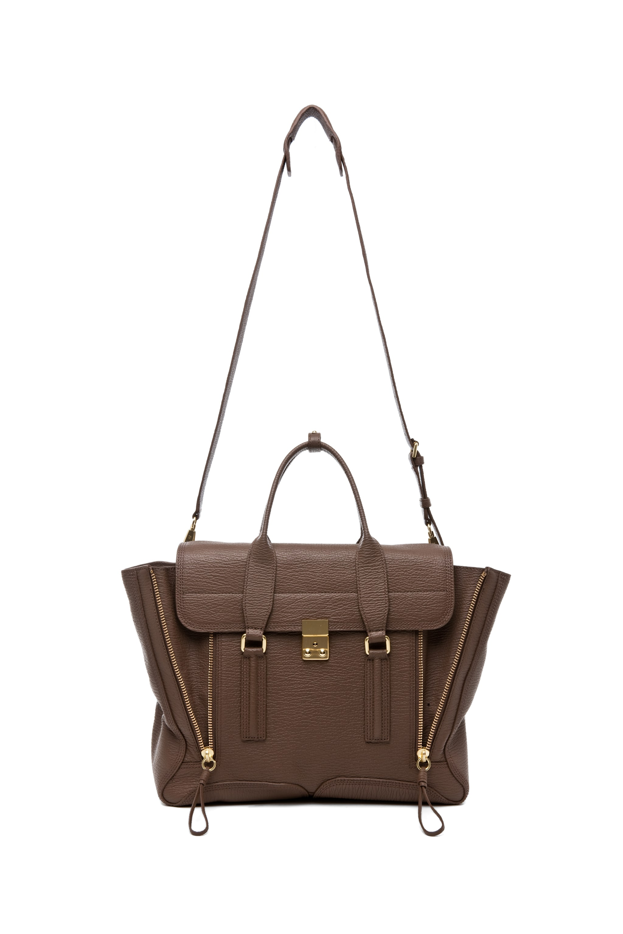 Image 5 of 3.1 phillip lim Pashli Satchel in Taupe