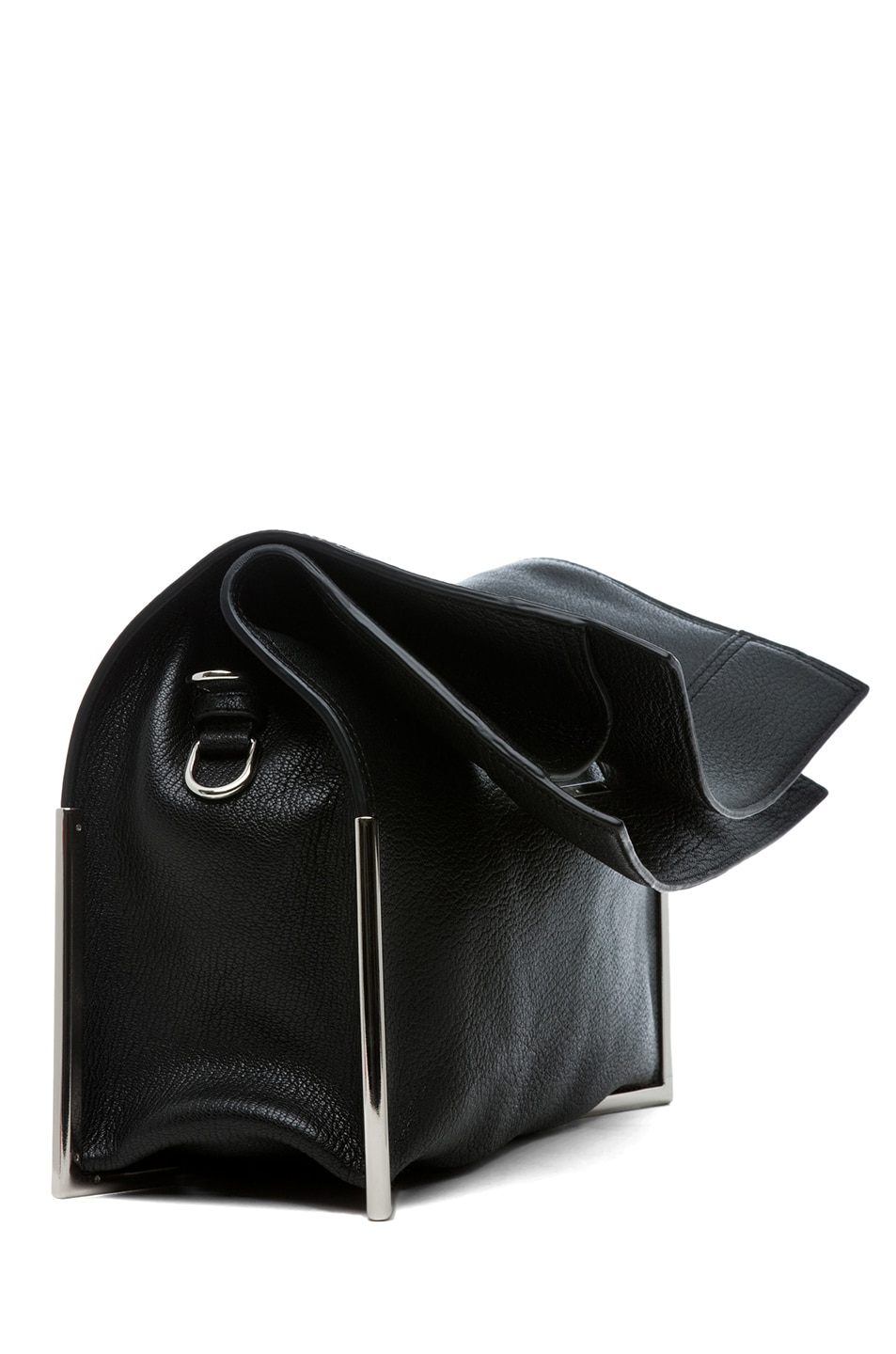 Image 3 of 3.1 phillip lim Lux Grain Convertible Cut Out Handle Tote in Black