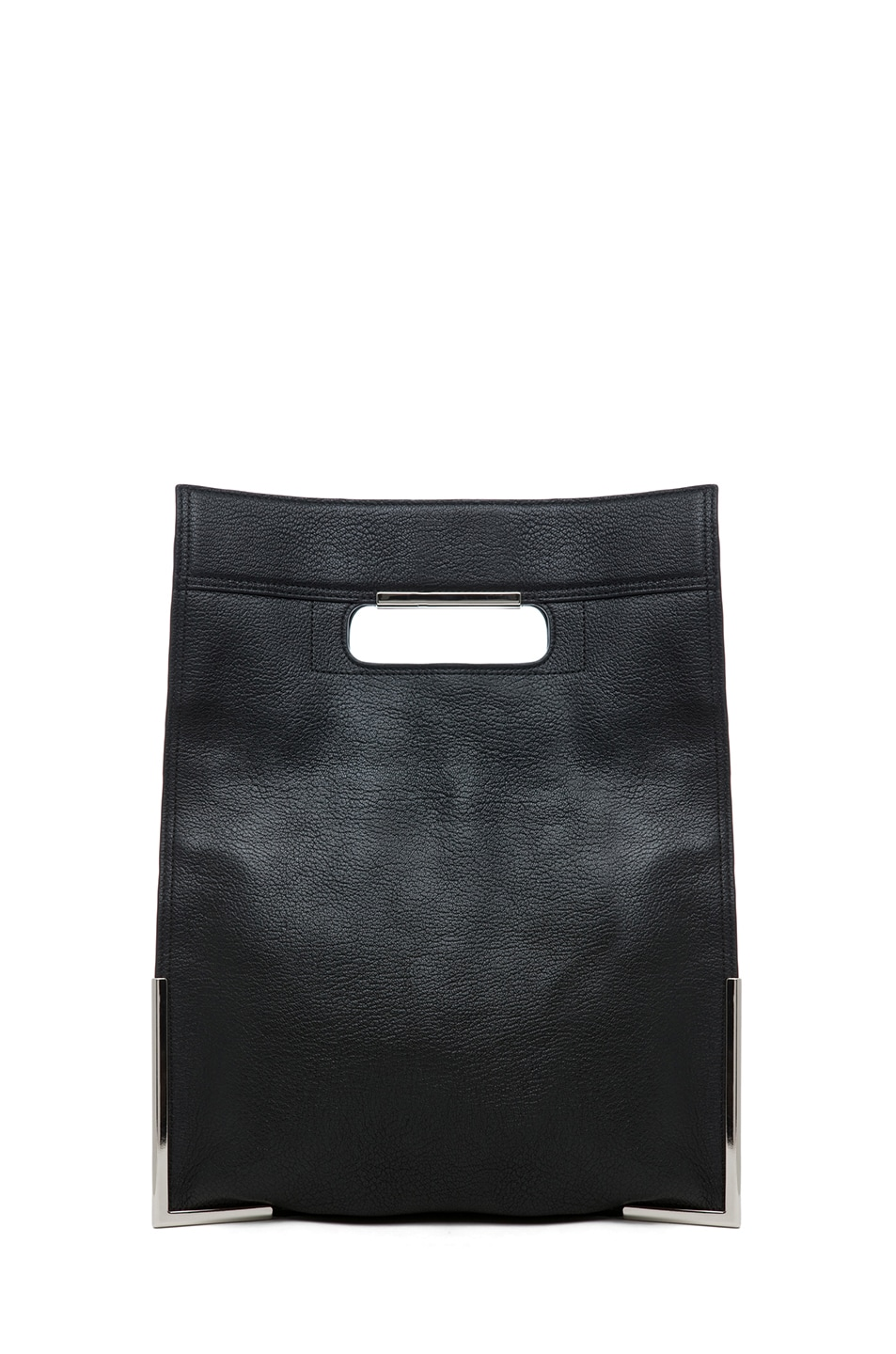 Image 4 of 3.1 phillip lim Lux Grain Convertible Cut Out Handle Tote in Black