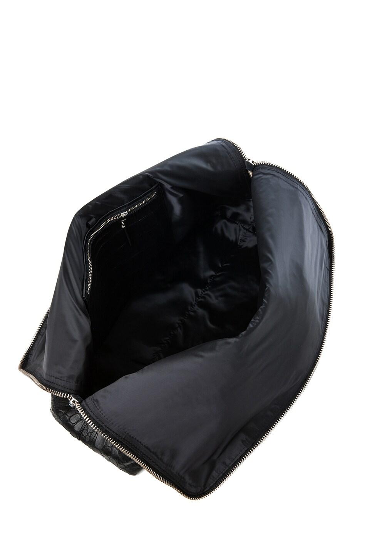 Image 4 of 3.1 phillip lim Matte Crocodile Embossed 31 Hour Bag in Black