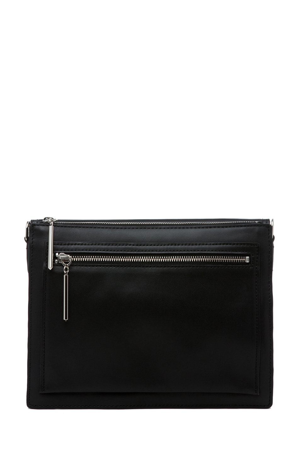 Image 2 of 3.1 phillip lim Polly Double Compartment Crossbody in Black