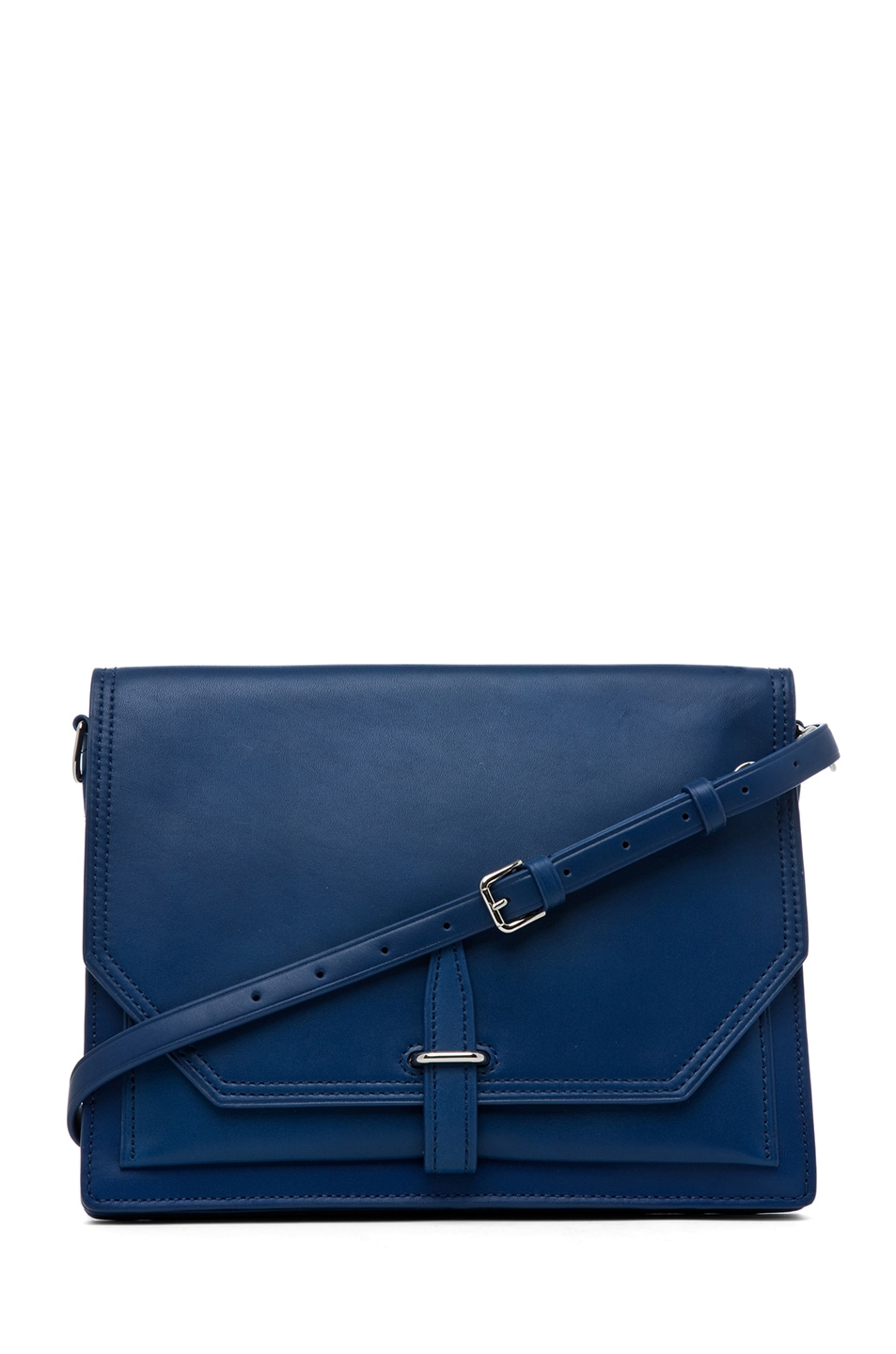 Image 1 of 3.1 phillip lim Polly Double Compartment Crossbody in Cerulean