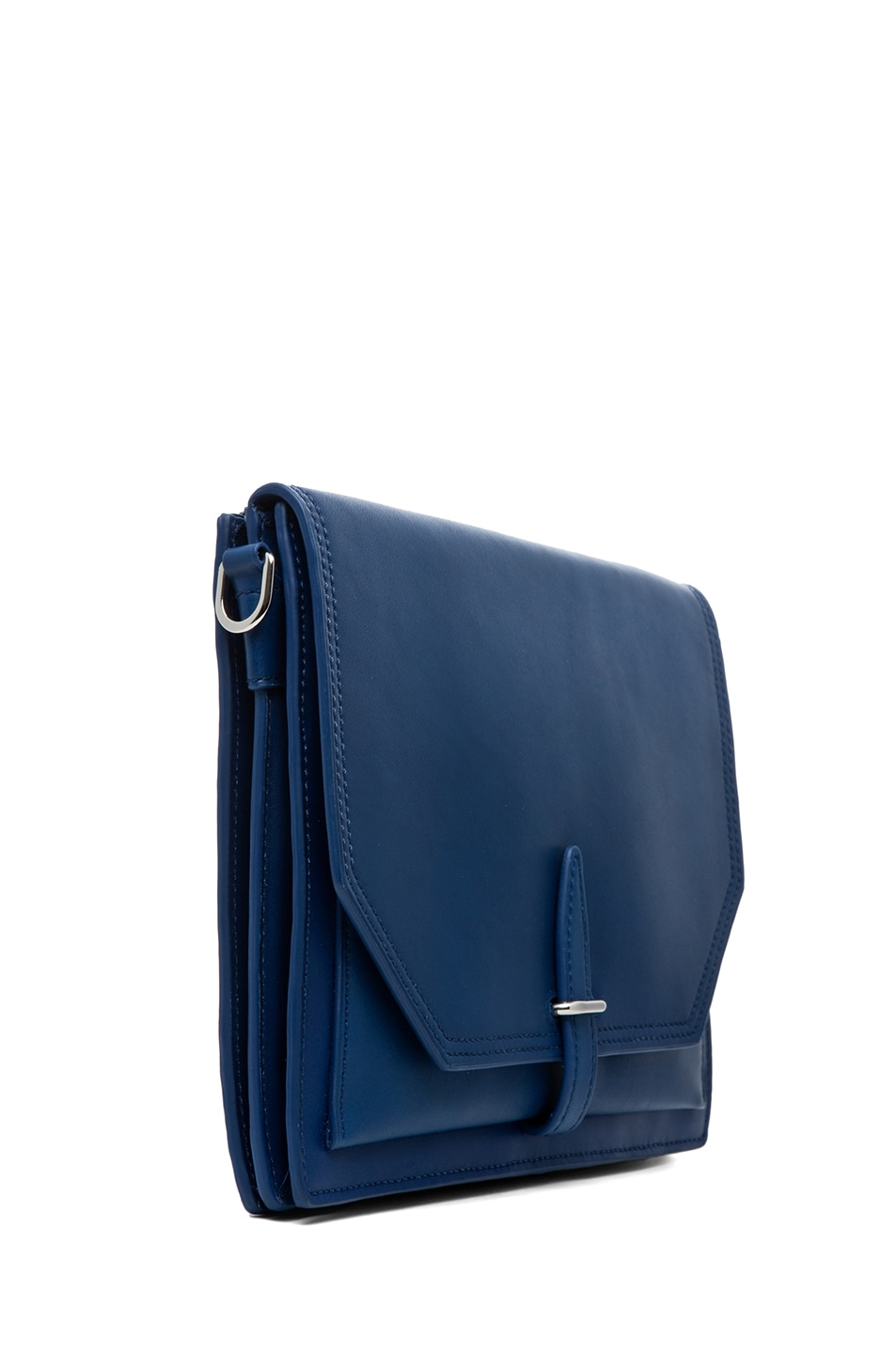 Image 3 of 3.1 phillip lim Polly Double Compartment Crossbody in Cerulean
