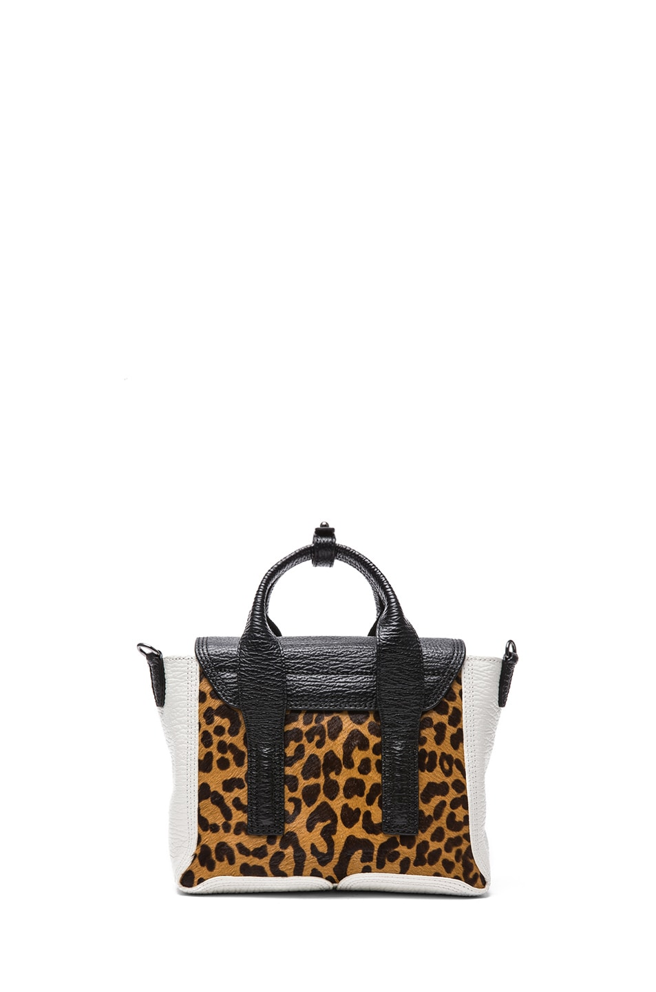 Image 2 of 3.1 phillip lim Mini Pashli Satchel in Natural Leopard
