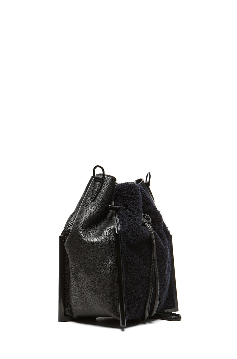 Image 3 of 3.1 phillip lim Small Scout Crossbody in Midnight & Black