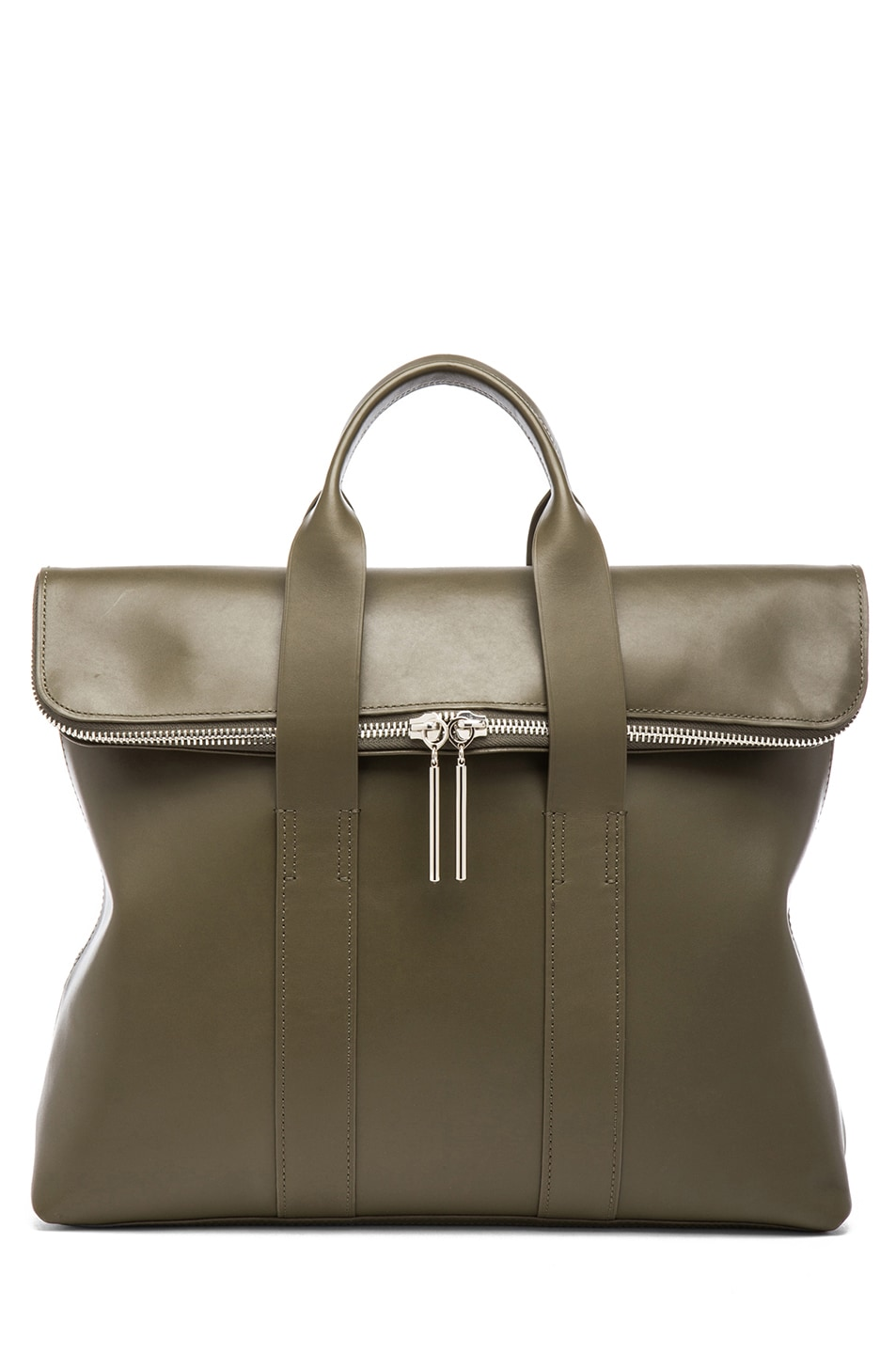 Image 1 of 3.1 phillip lim 31 Hour Bag in Dark Olive