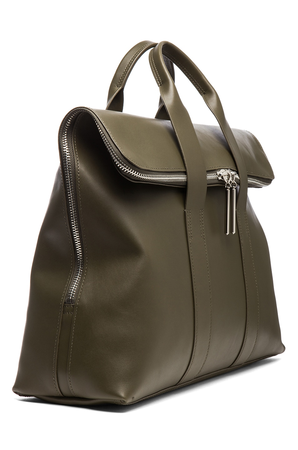 Image 3 of 3.1 phillip lim 31 Hour Bag in Dark Olive