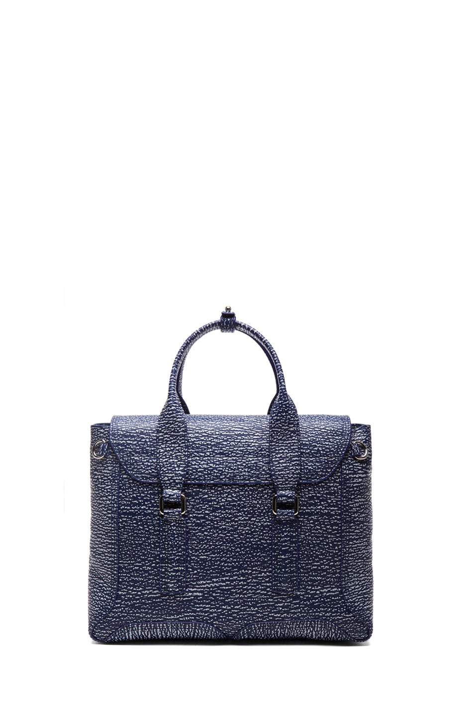 Image 2 of 3.1 phillip lim Medium Pashli Trapeze in Cobalt & Antique White