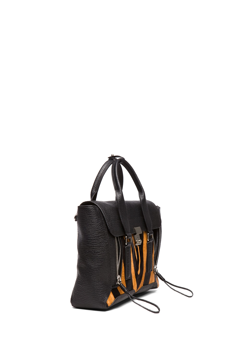 Image 3 of 3.1 phillip lim Medium Pashli Trapeze in Natural & Black
