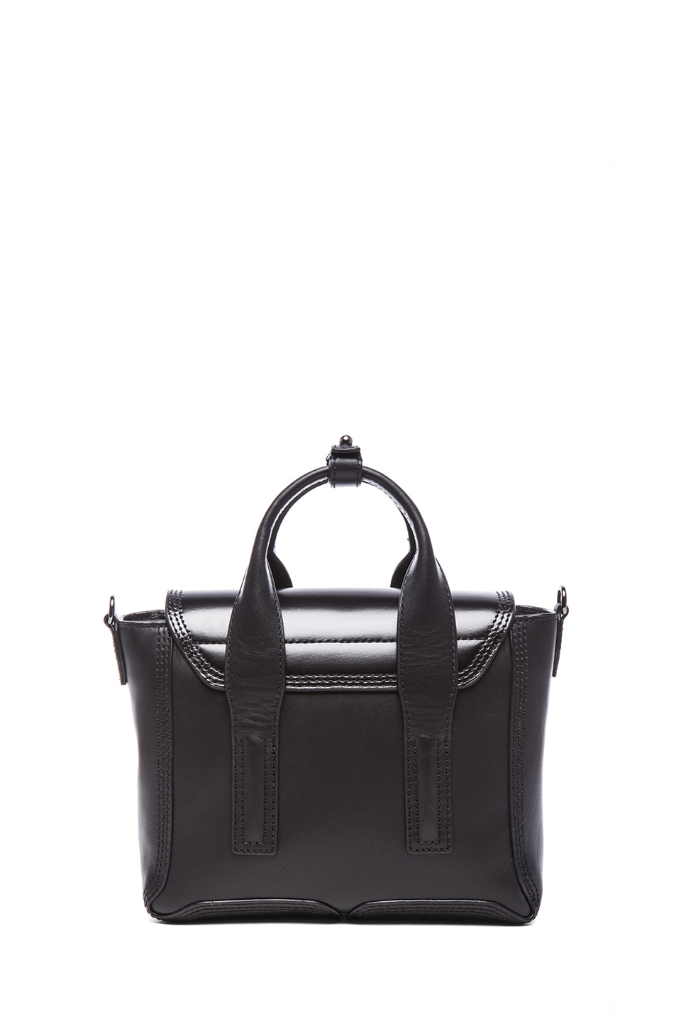 Image 2 of 3.1 phillip lim Mini Pashli Satchel in Gunmetal Black
