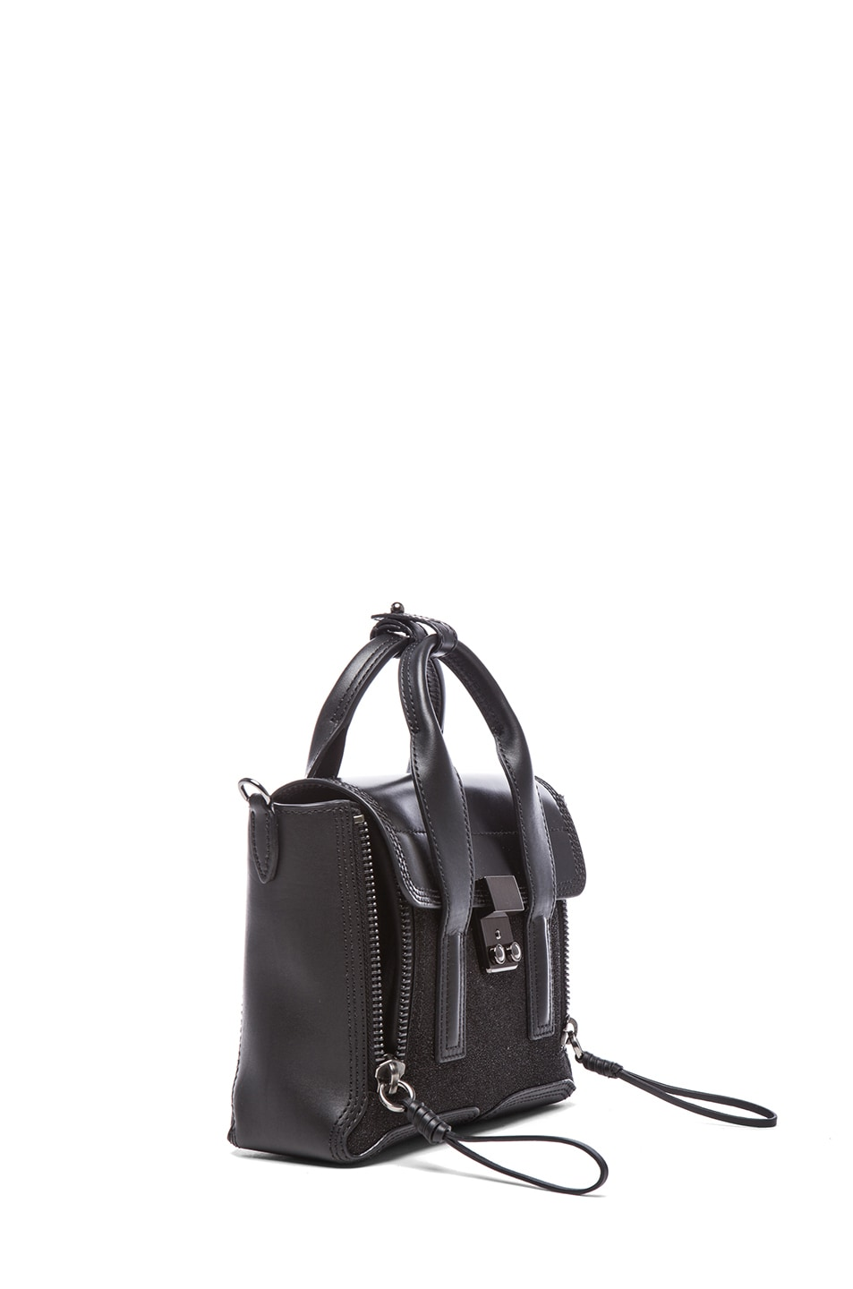 Image 3 of 3.1 phillip lim Mini Pashli Satchel in Gunmetal Black