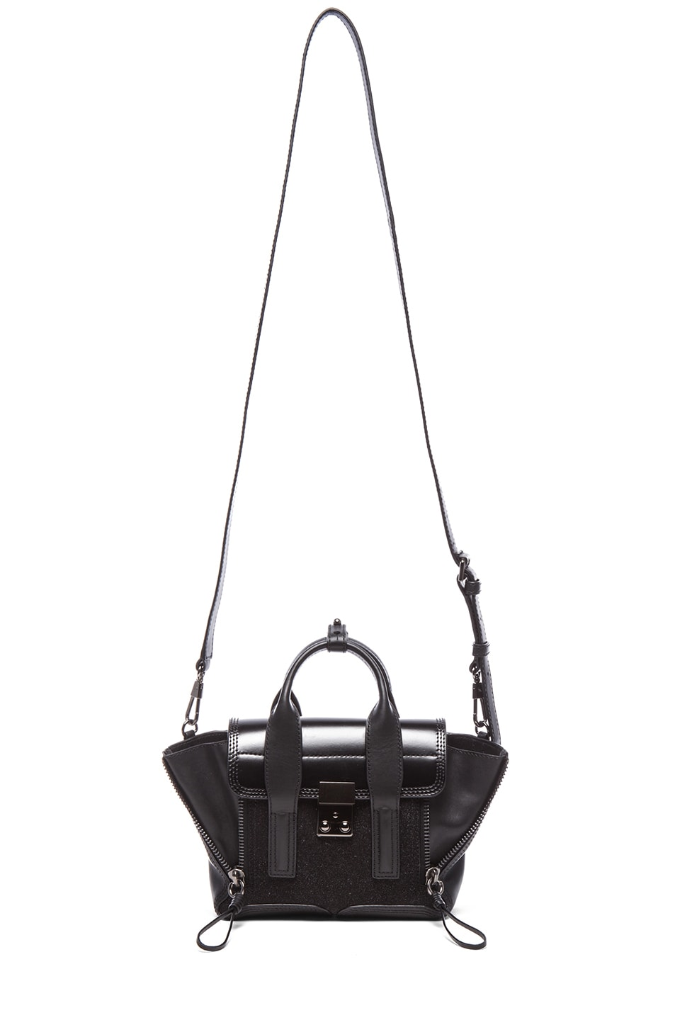 Image 5 of 3.1 phillip lim Mini Pashli Satchel in Gunmetal Black
