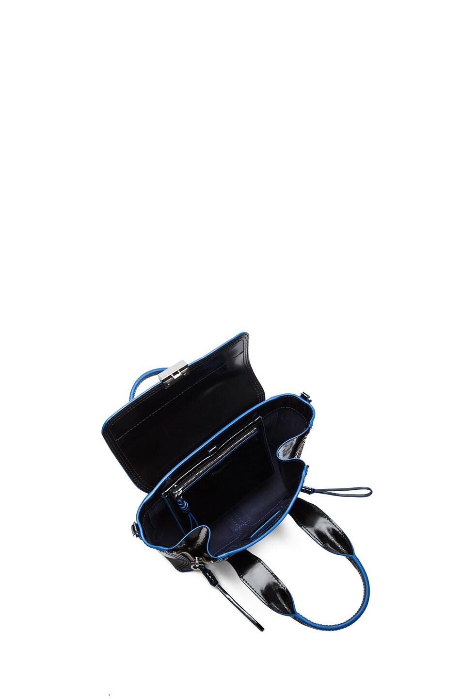 Image 4 of 3.1 phillip lim Mini Pashli Satchel in Black & Dark Navy