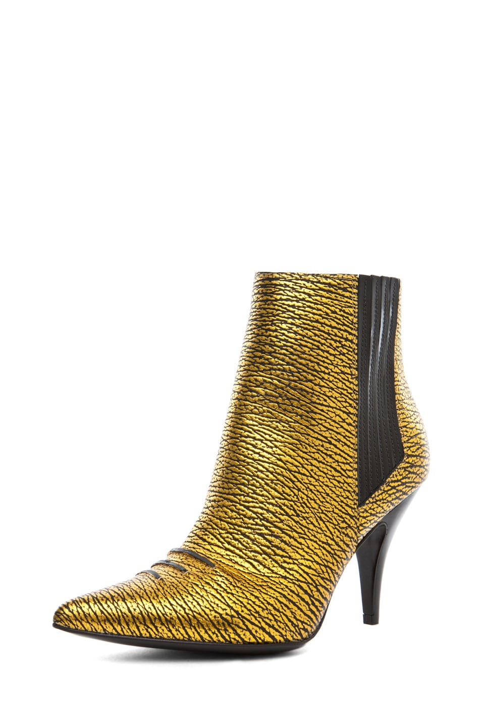 Image 2 of 3.1 phillip lim Delia Bootie in Yellow Gold