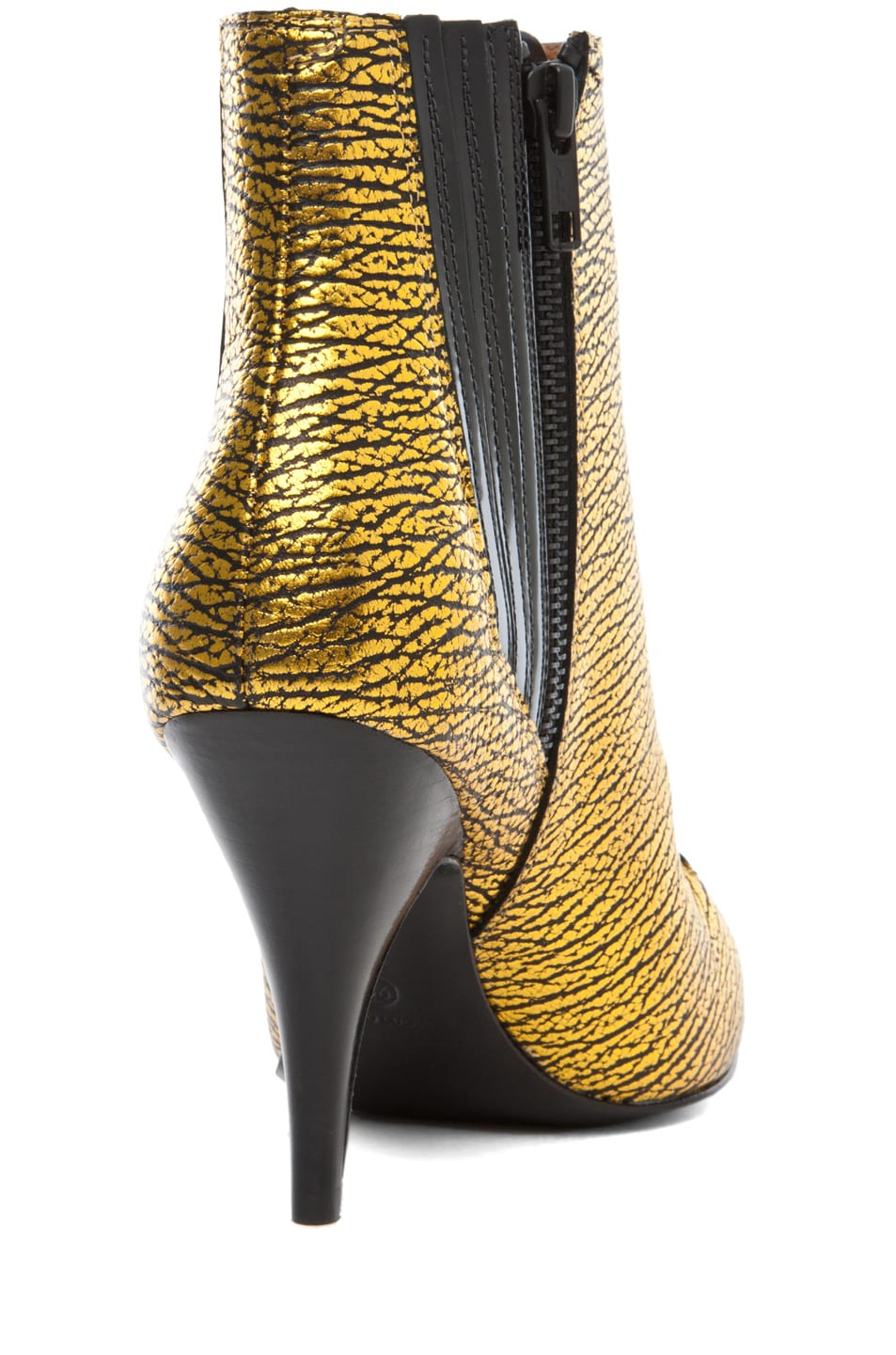 Image 3 of 3.1 phillip lim Delia Bootie in Yellow Gold