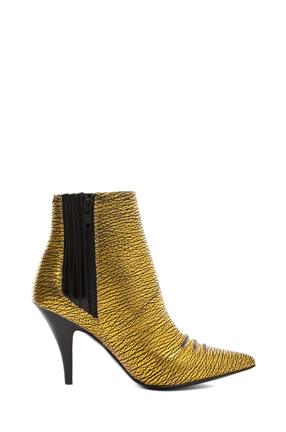 Image 5 of 3.1 phillip lim Delia Bootie in Yellow Gold
