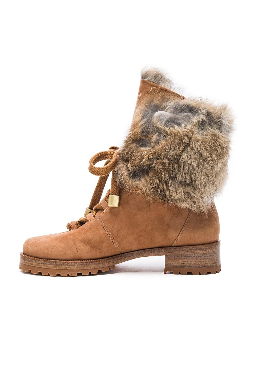 alexandre birman winter benjamin suede boots in beige