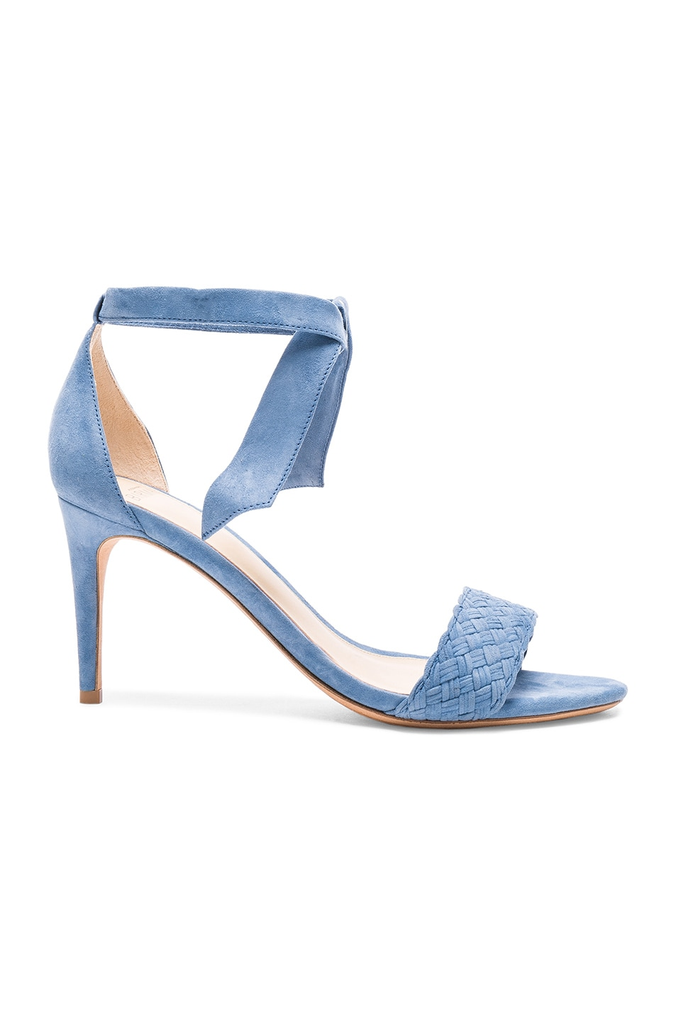 ALEXANDRE BIRMAN Suede Rosemarie Heels at FORWARD
