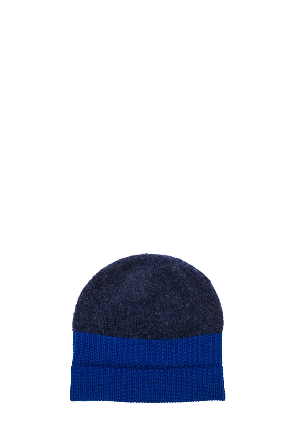 Image 1 of Acne Studios Wood Beanie in Navy