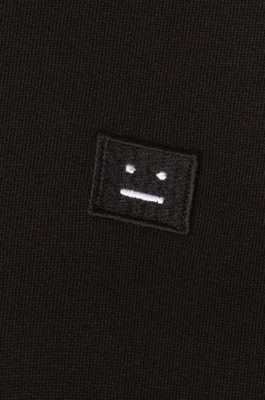 Image 6 of Acne Studios Fint Face Sweatshirt in Black