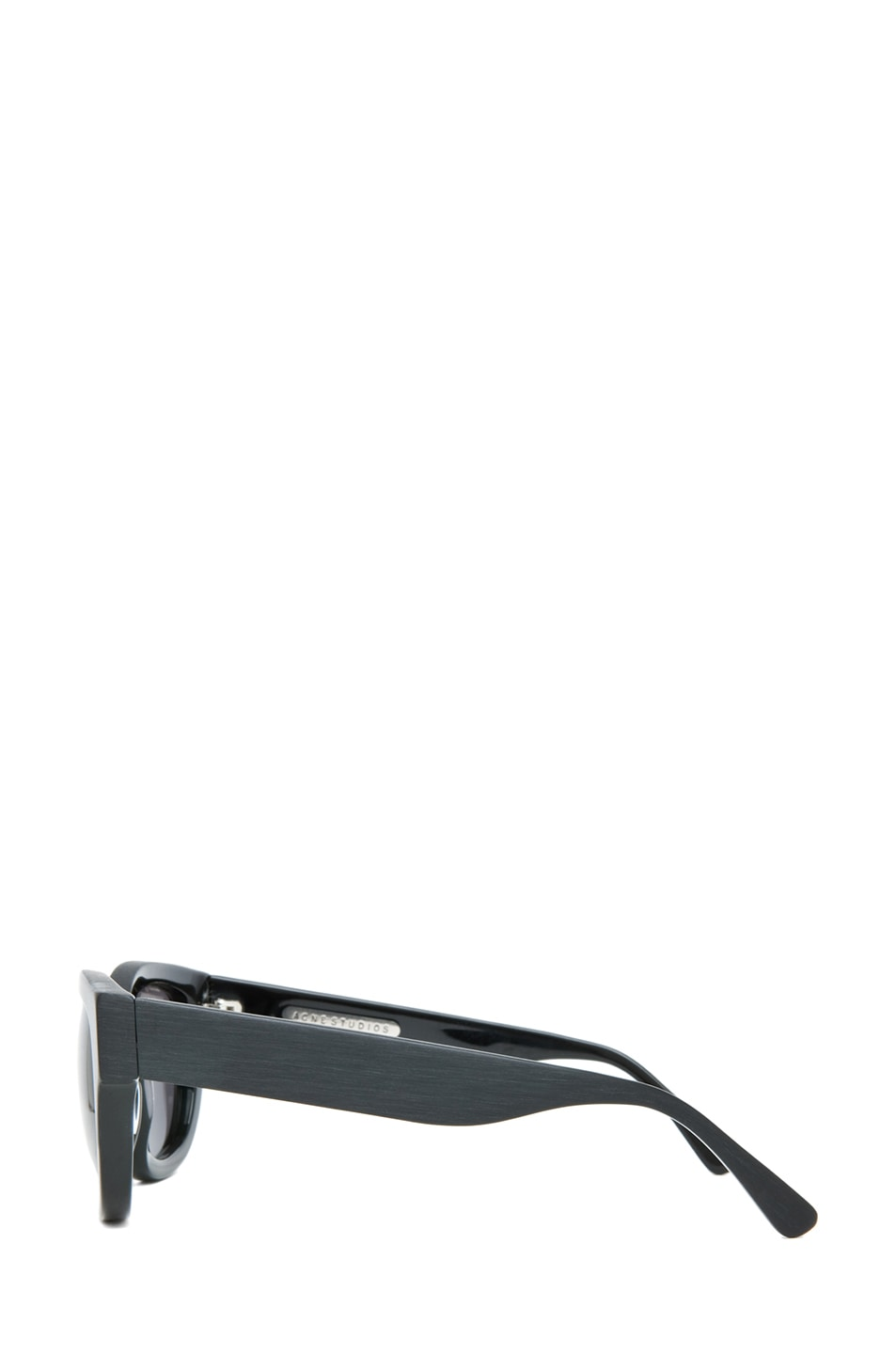 Image 3 of Acne Studios Polarized Sunglasses in Matte Black
