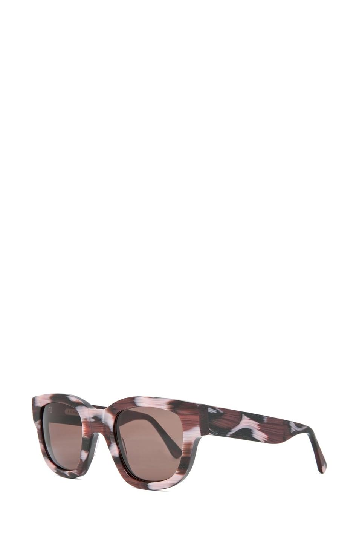 Image 2 of Acne Studios Sunglasses in Purple Leo