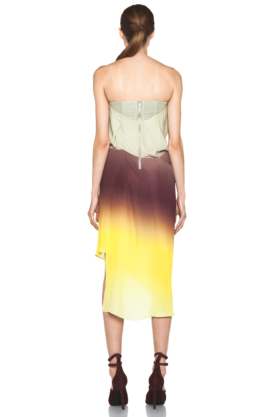 Image 4 of Acne Studios Anya Degrade Dress in Degrade