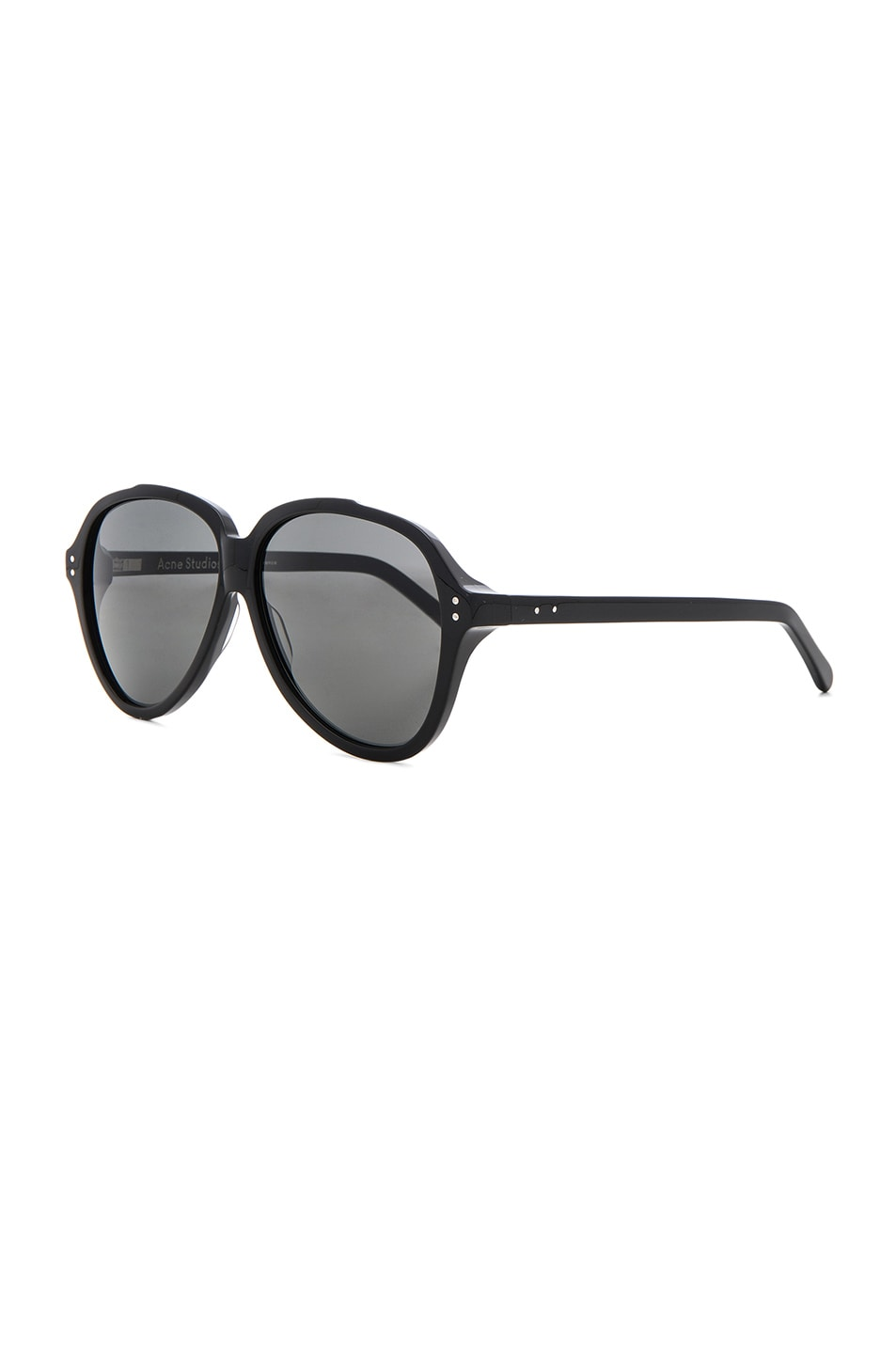 Image 2 of Acne Studios Charge Sunglasses in Black