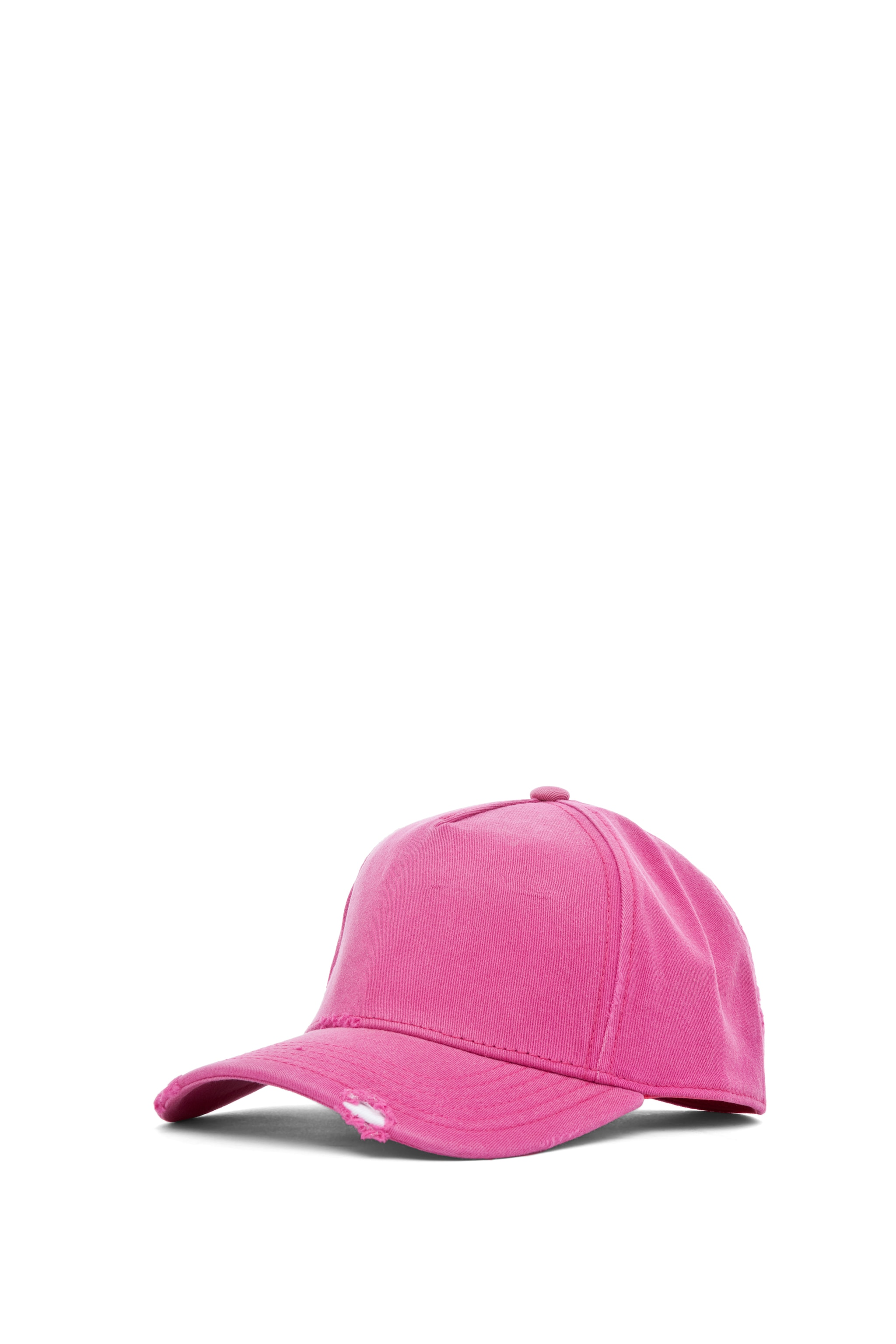 Image 2 of Acne Studios Clint Twill Ball Cap in Pink