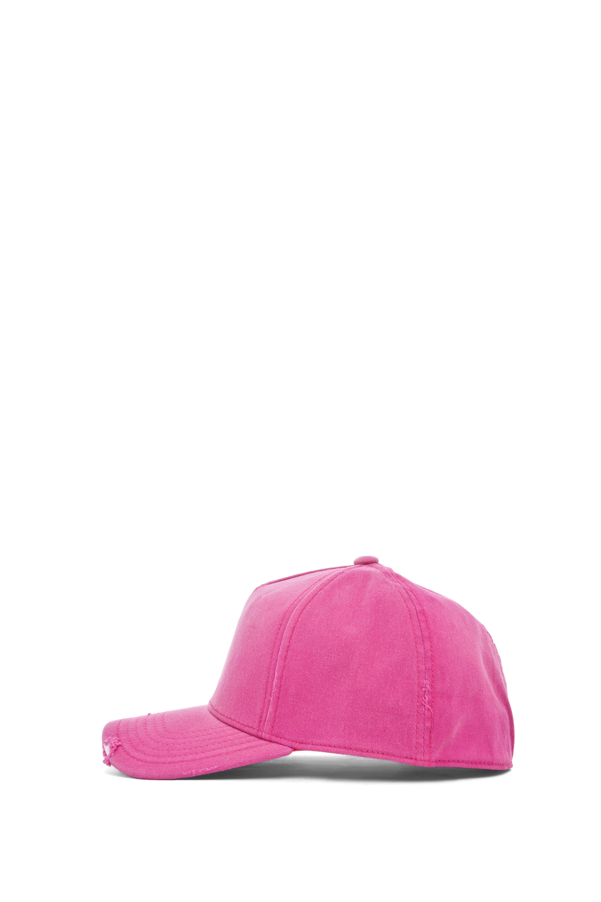Image 3 of Acne Studios Clint Twill Ball Cap in Pink