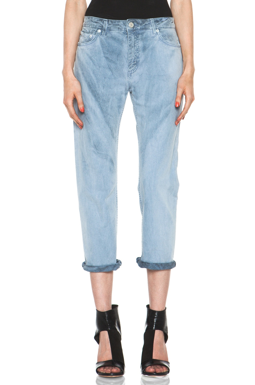 Image 1 of Acne Studios Pop Jean in Hand Dye Sky