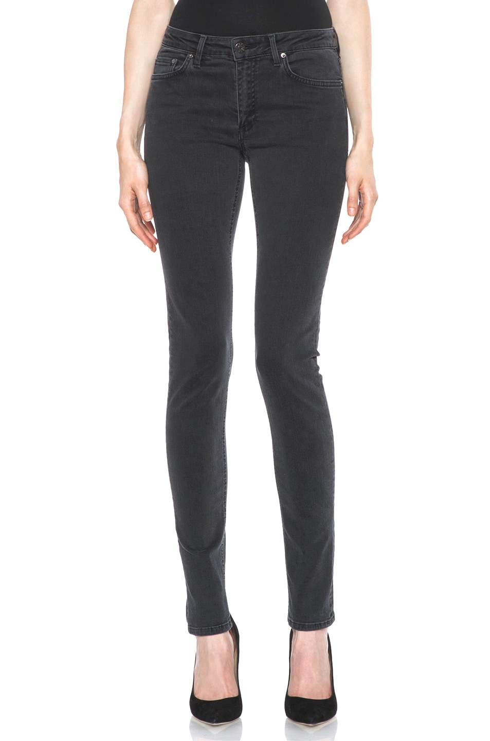 Image 1 of Acne Studios Skin 5 Jean in Used Black