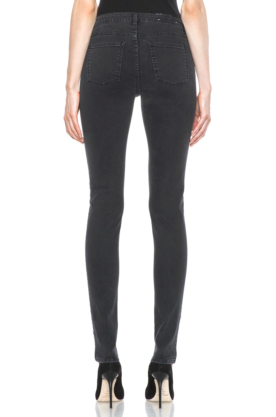 Image 4 of Acne Studios Skin 5 Jean in Used Black