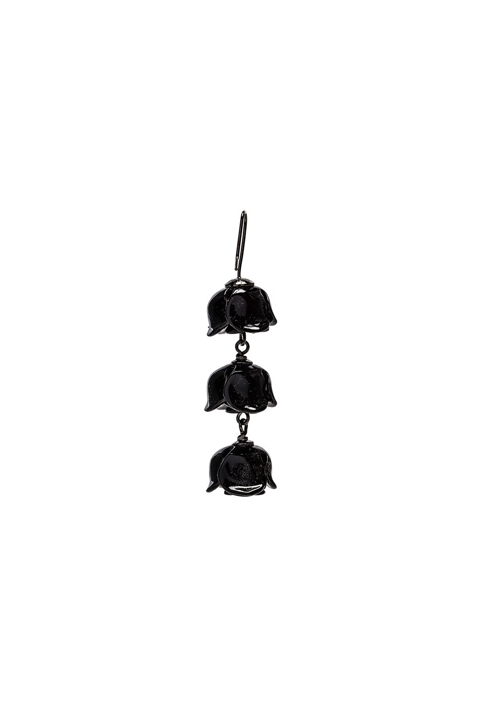 Image 3 of Acne Studios Connie Single Earring in Black