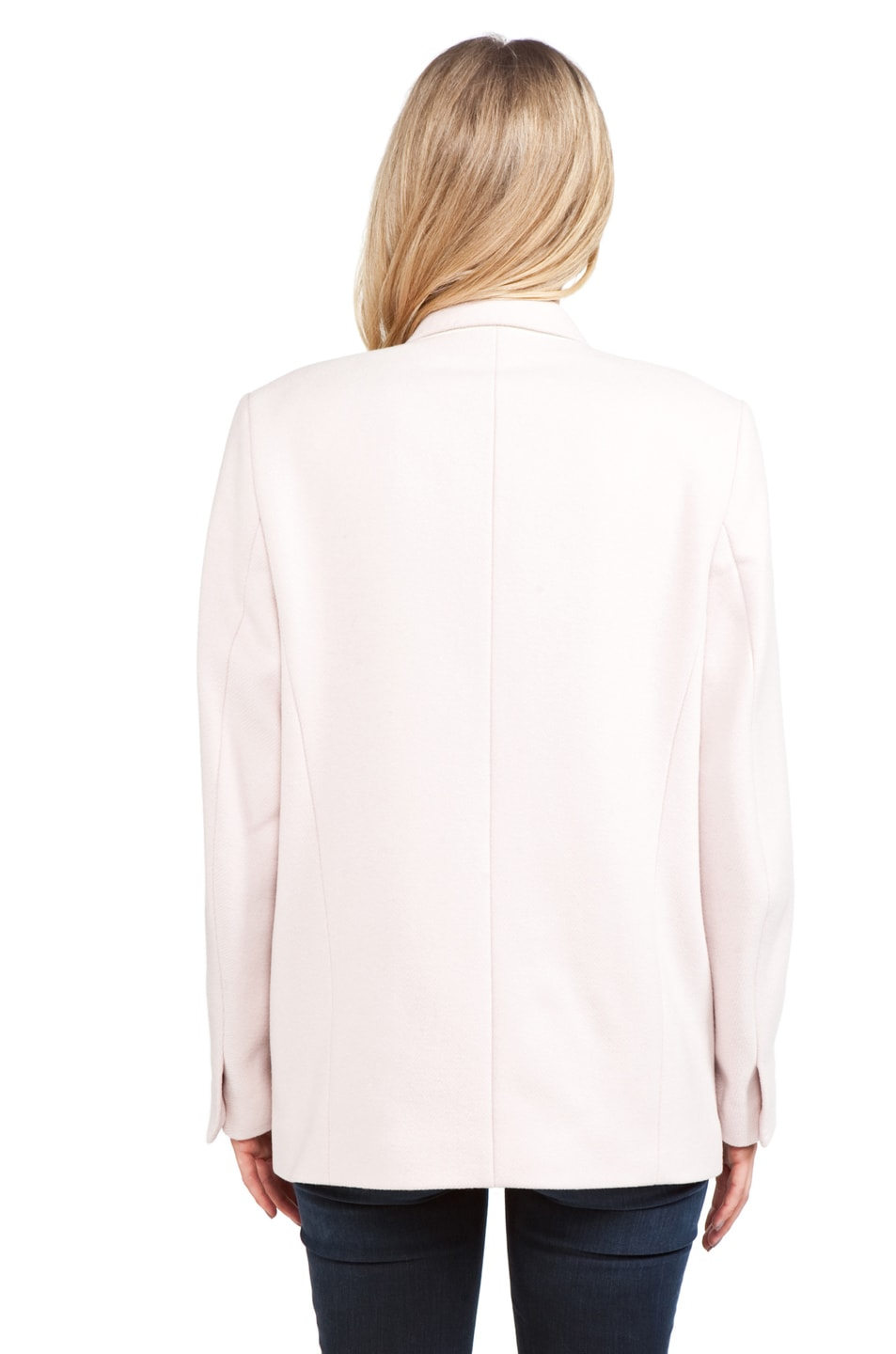 Image 4 of Acne Studios Simone Blazer in Blushed