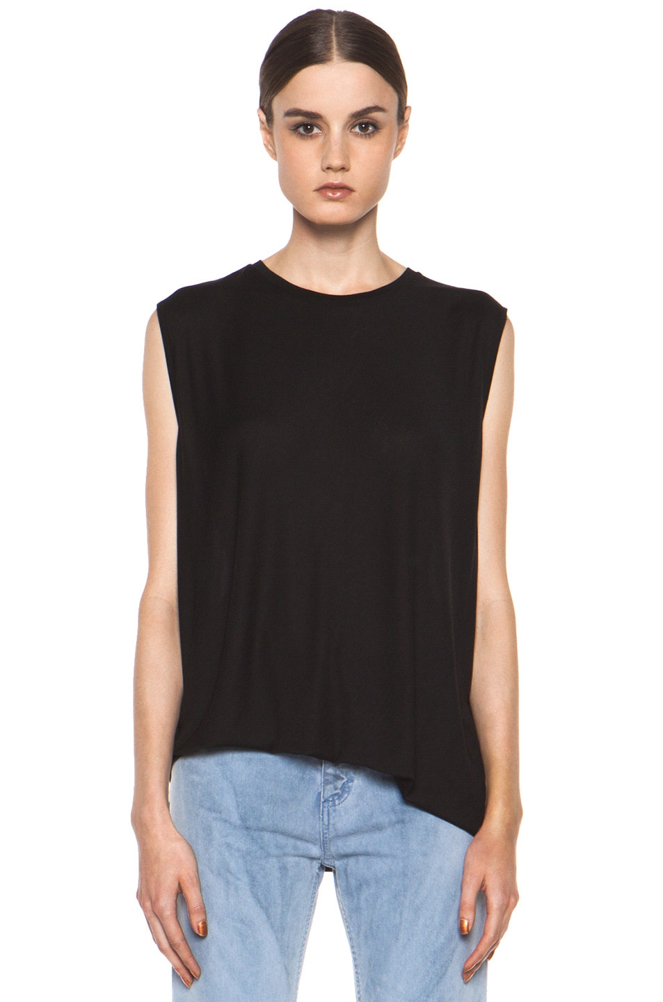 Image 1 of Acne Studios Chance Ten Tank in Black