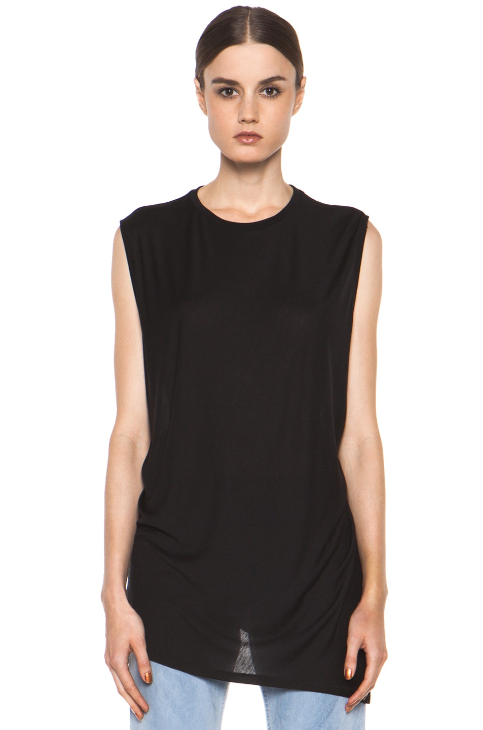 Image 2 of Acne Studios Chance Ten Tank in Black