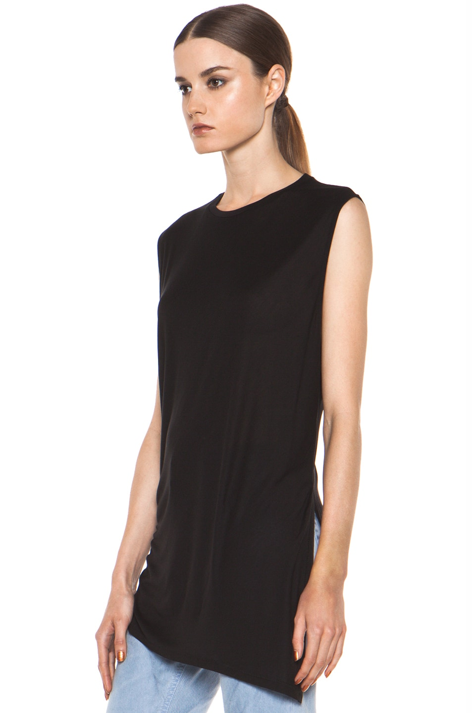 Image 3 of Acne Studios Chance Ten Tank in Black