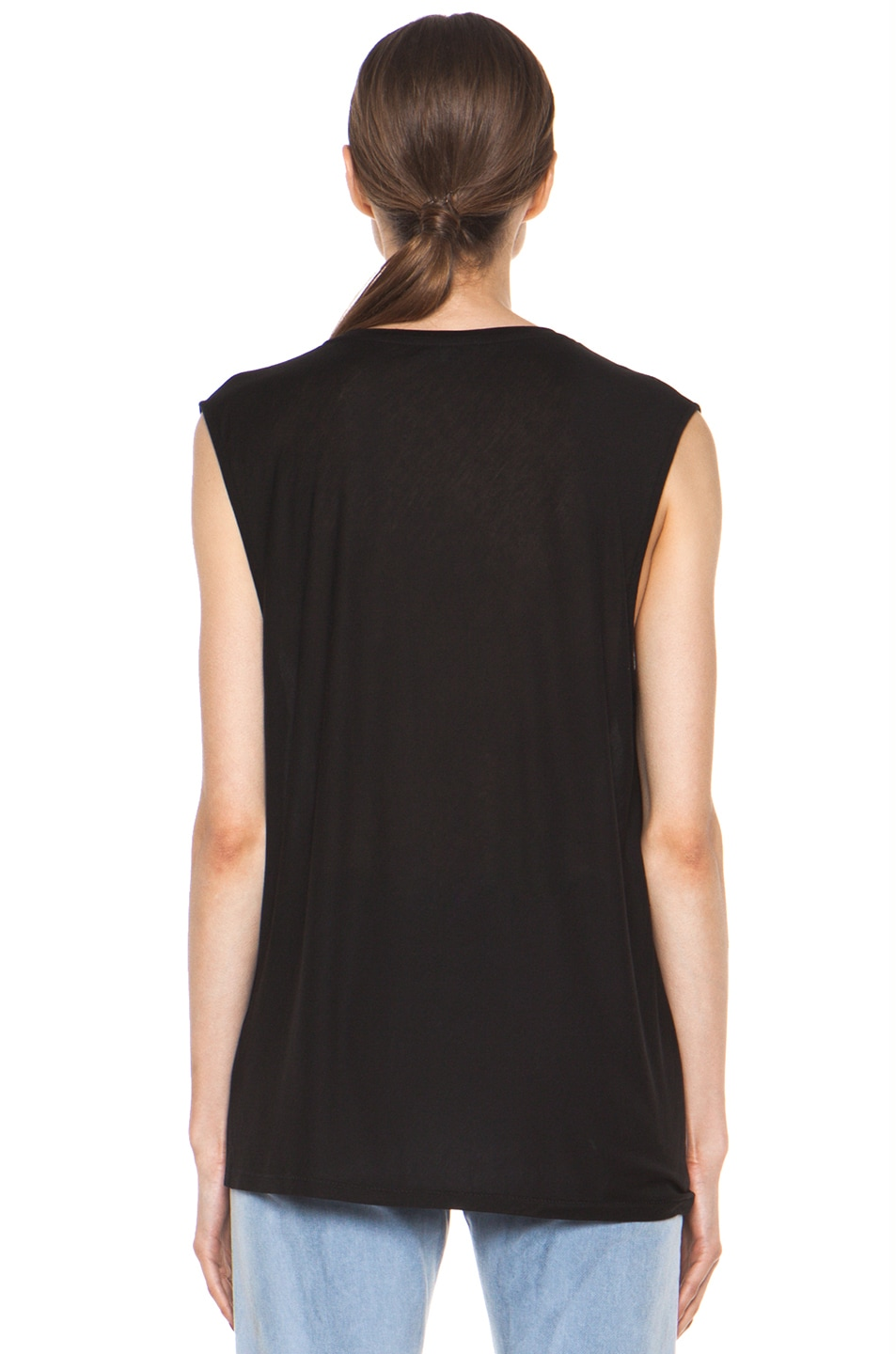 Image 5 of Acne Studios Chance Ten Tank in Black