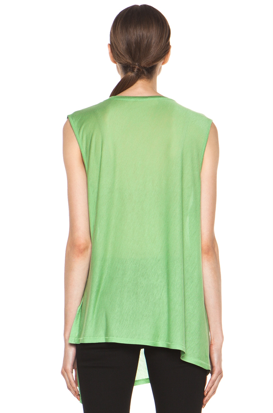 Image 5 of Acne Studios Chance Ten Tank in Money Green