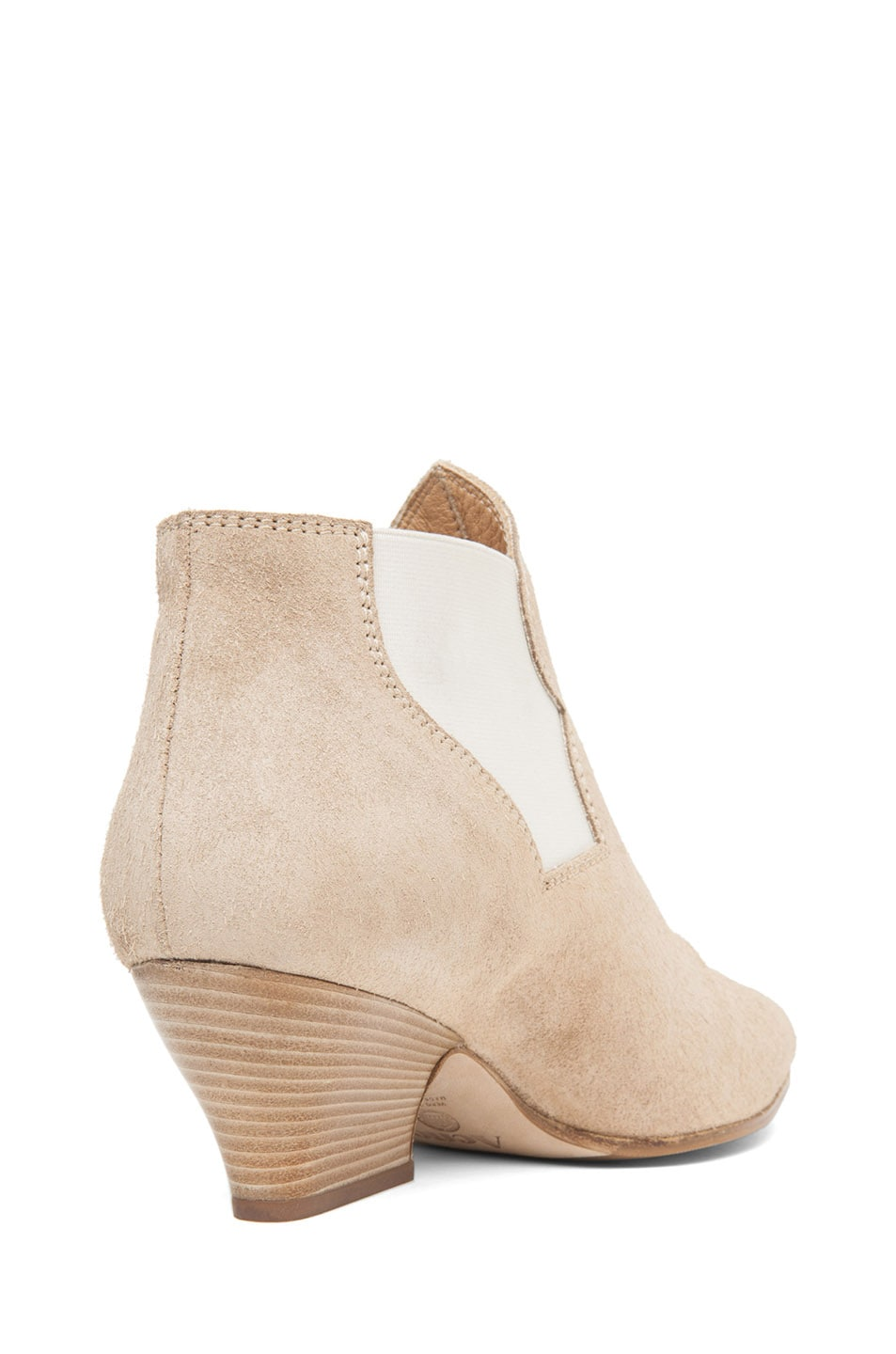 Image 3 of Acne Studios Alma Suede Bootie in Taupe