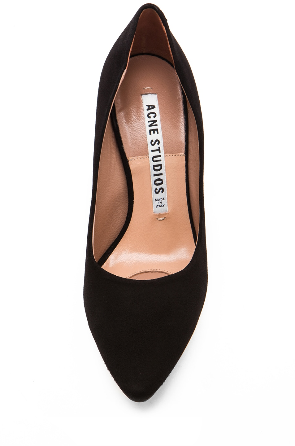 Image 4 of Acne Studios Lola Suede Pumps in Black