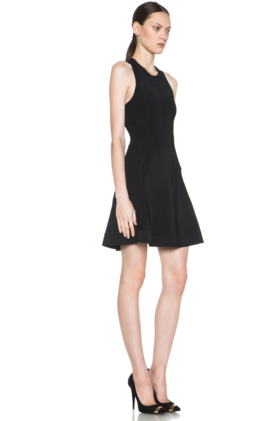 Image 3 of A.L.C. Barrett Viscose-Blend Dress in Black