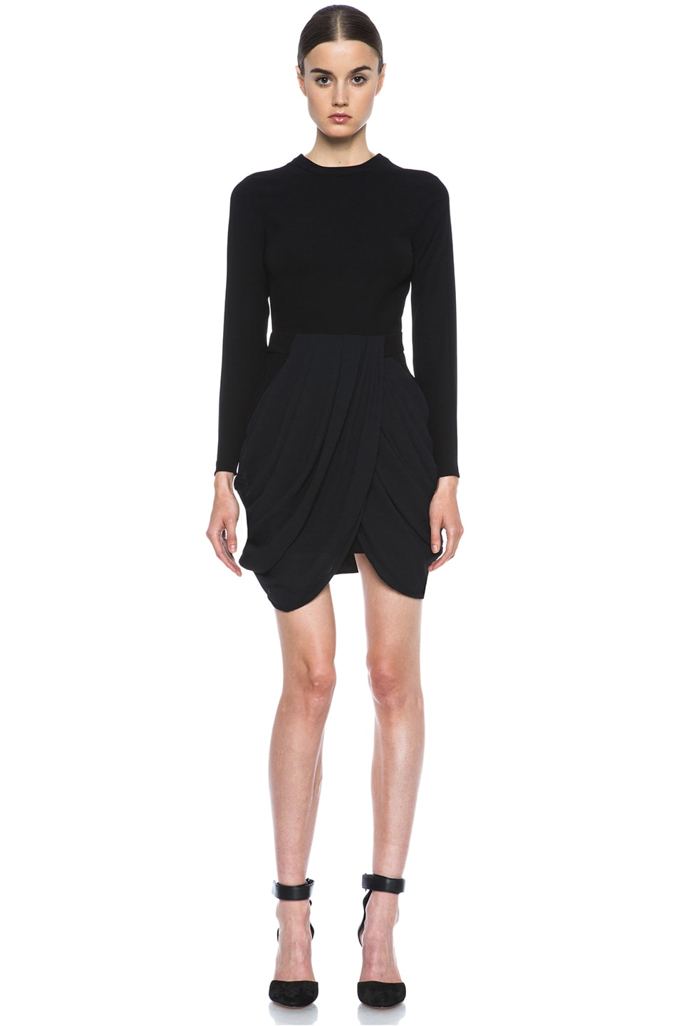 Image 1 of A.L.C. Tolan Dress in Black
