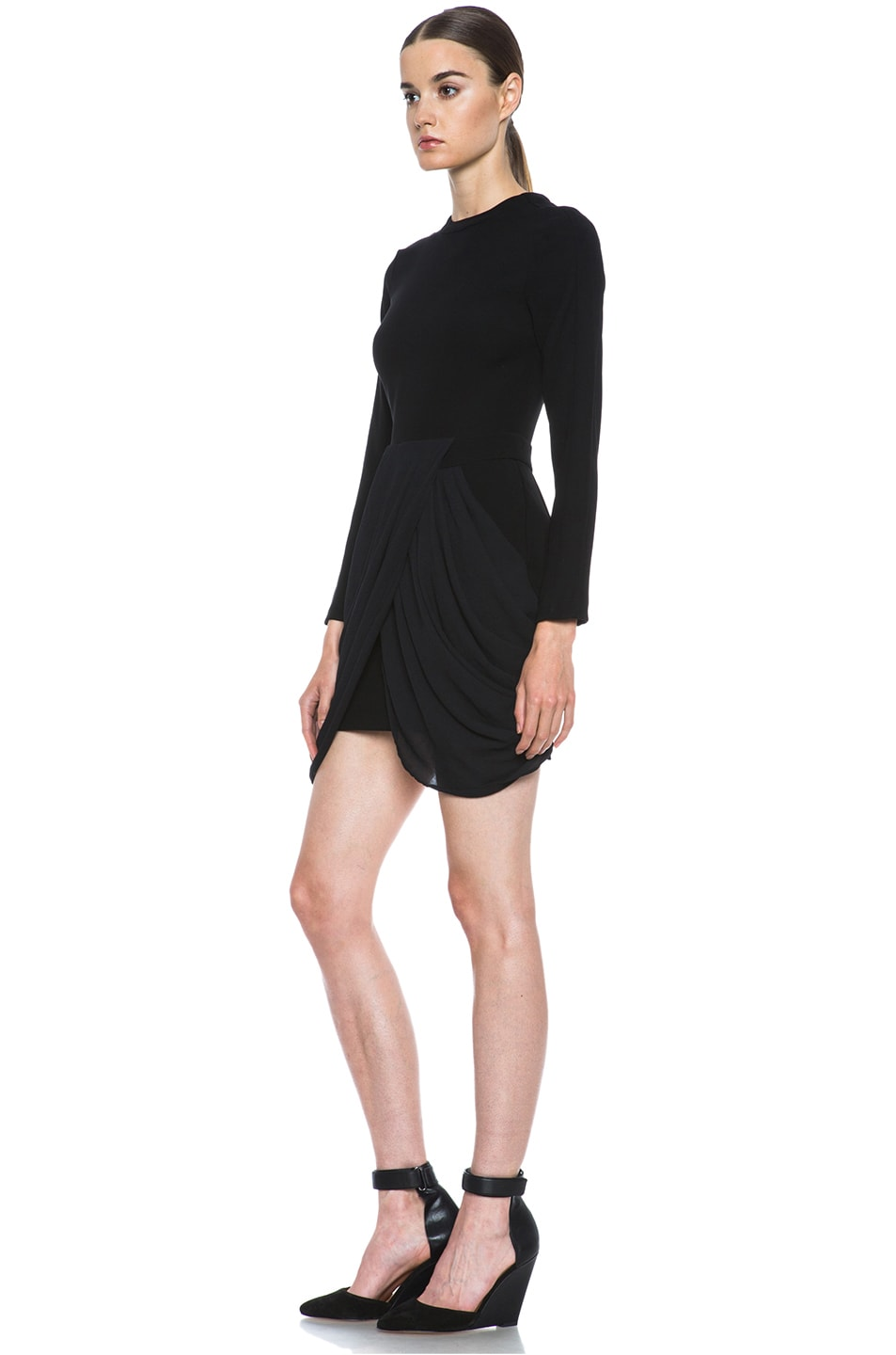 Image 2 of A.L.C. Tolan Dress in Black