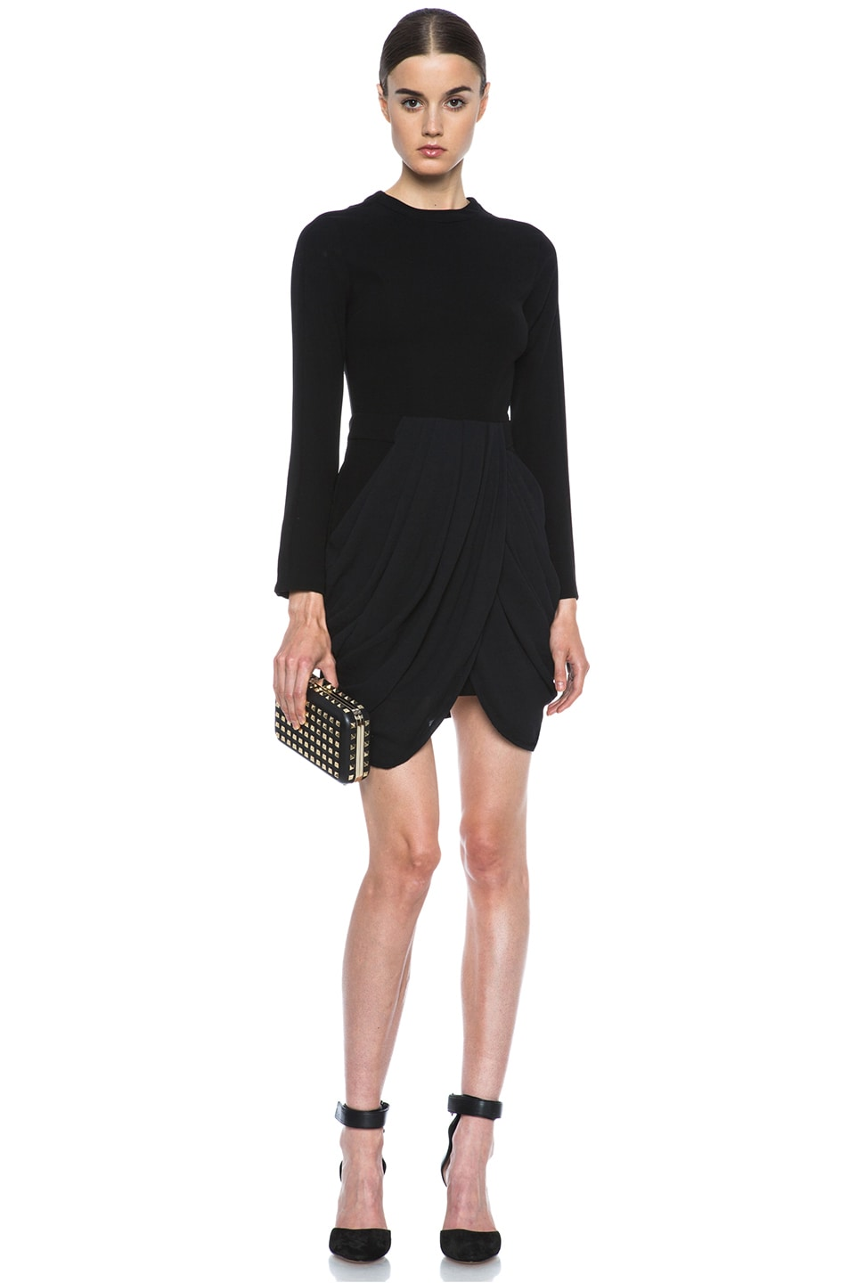 Image 5 of A.L.C. Tolan Dress in Black