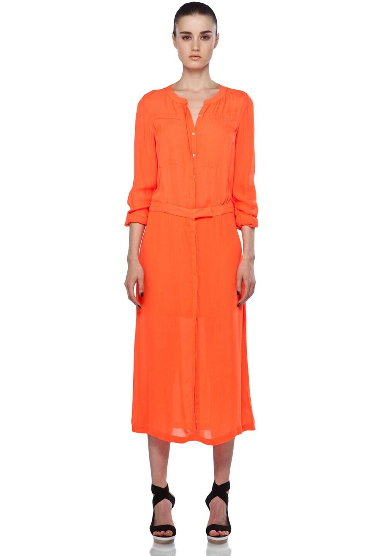 Image 1 of A.L.C. Delilah Dress in Safety Orange