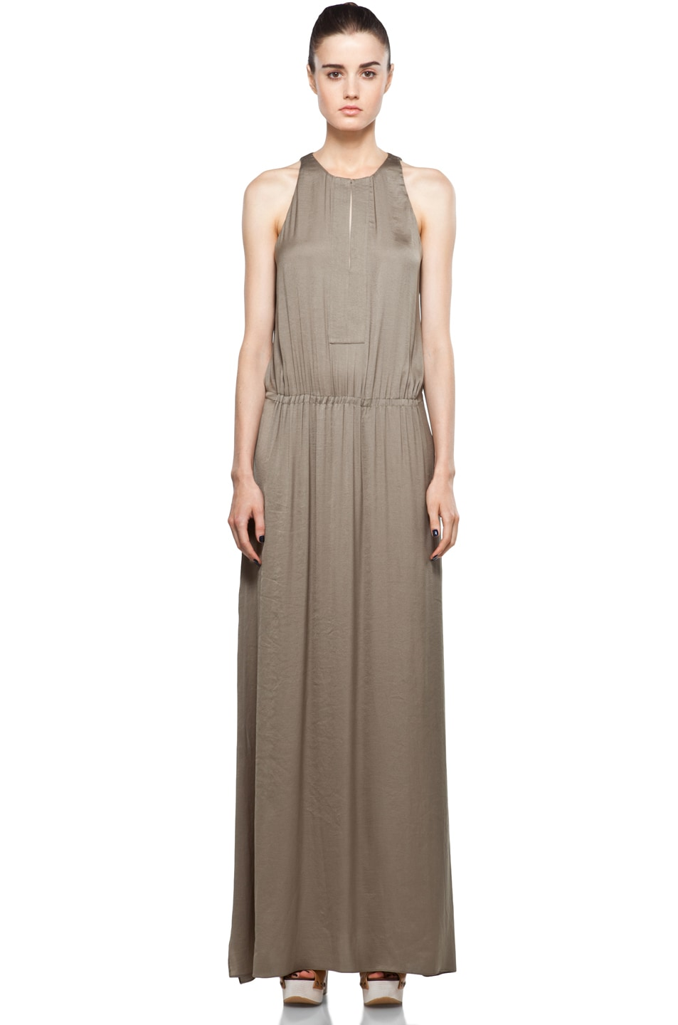 Image 1 of A.L.C. Annaleigh Dress in Sage