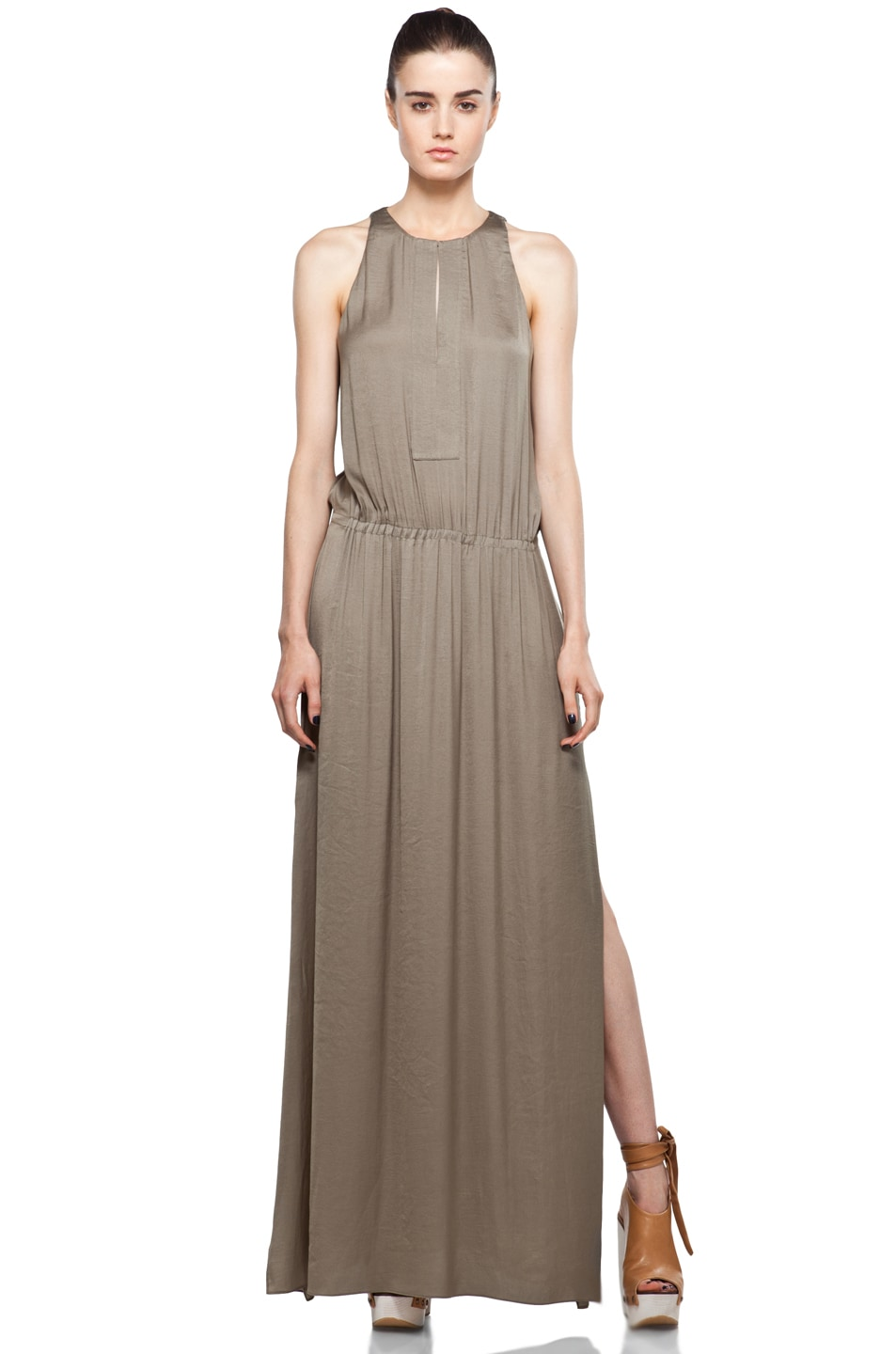 Image 2 of A.L.C. Annaleigh Dress in Sage