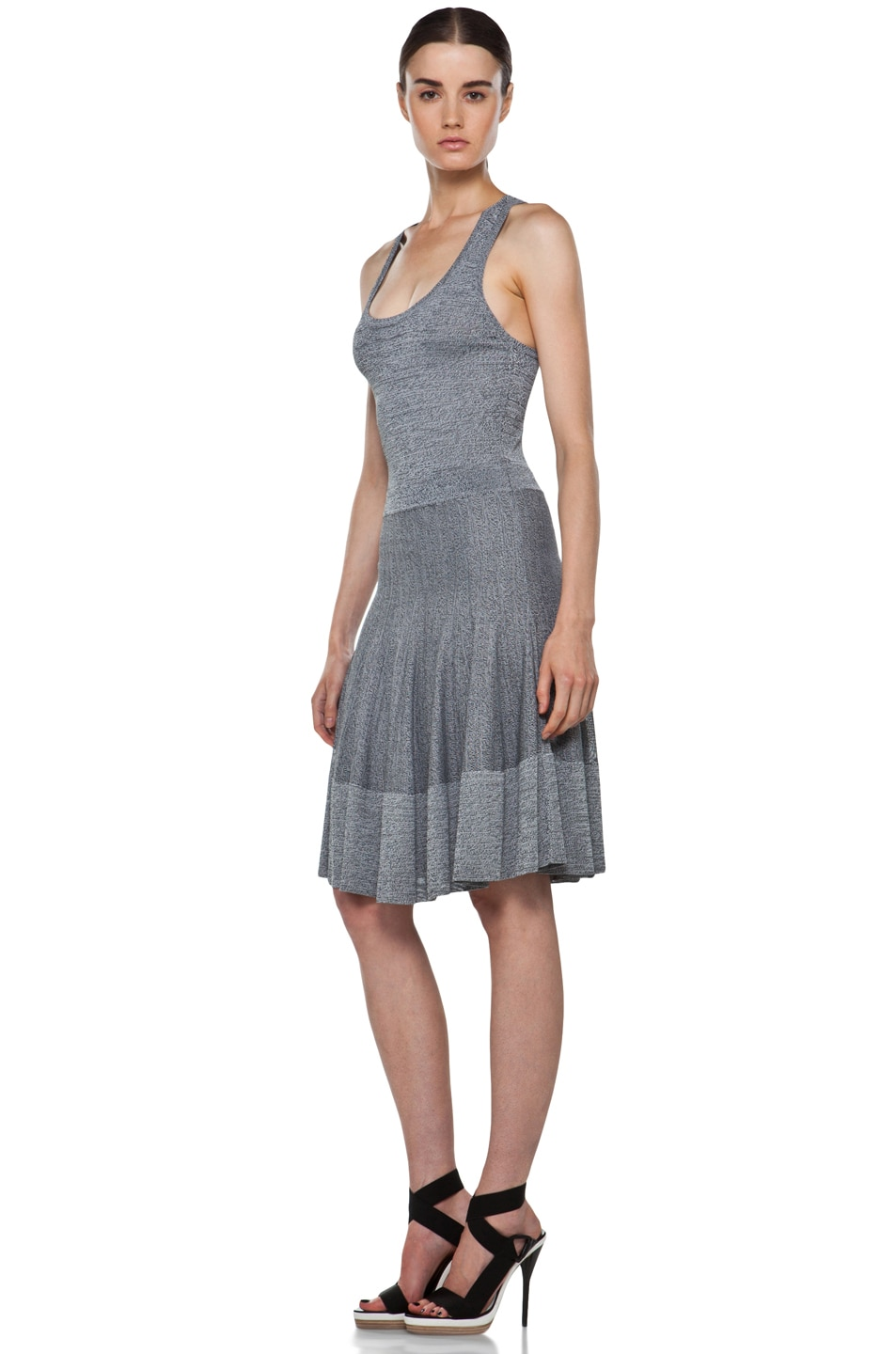Image 2 of A.L.C. Ariana Dress in Heather Black